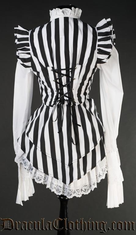 Striped Tailcoat Vest