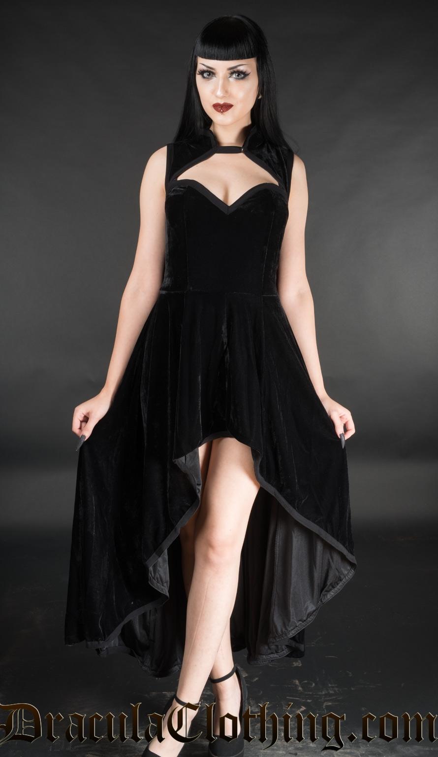 Velvet Choker Dress