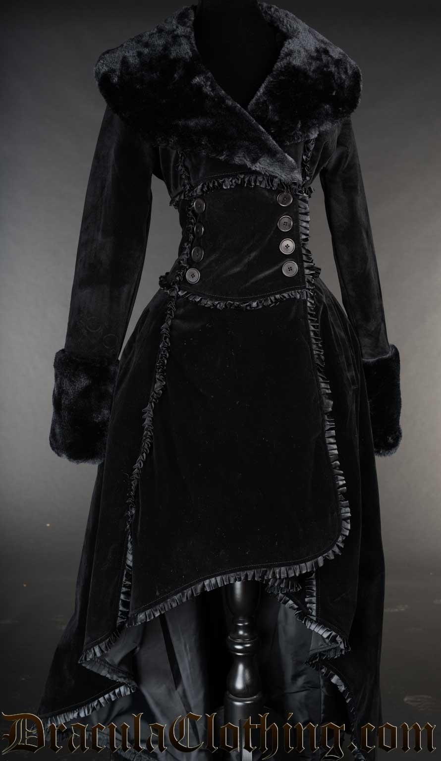 Velvet Evil Queen Coat