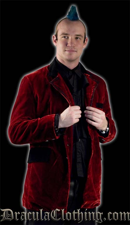 Velvet New Romantic Jacket
