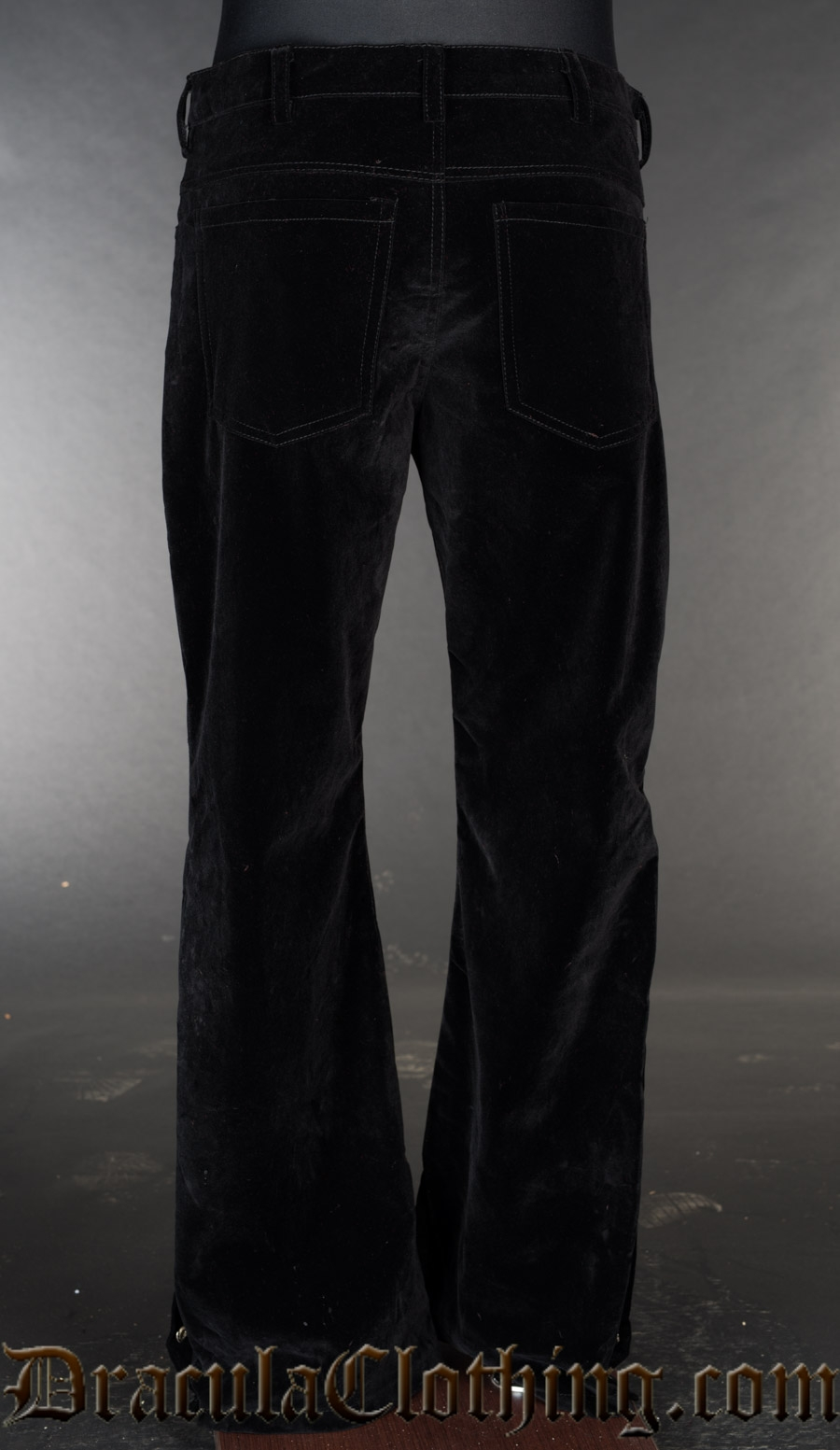 Velvet Officer Pants