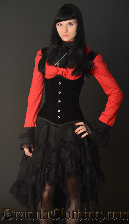 Velvet Princess Corset