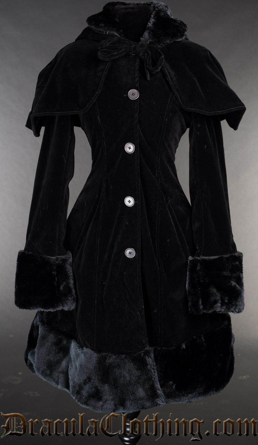 Velvet Thick Winter Coat