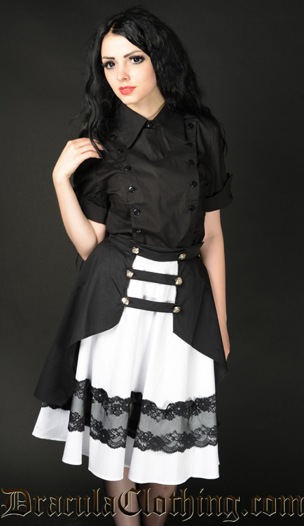 White Lucky Skirt