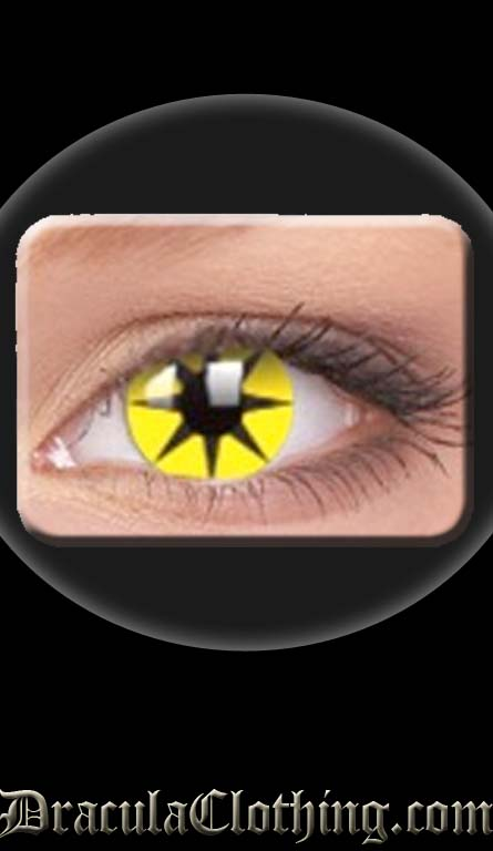 Yellow Star 1 Year Contact Lenses